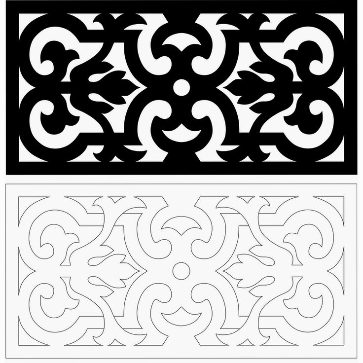 Scroll saw pattern 5  This would be nice to cover the cold air return