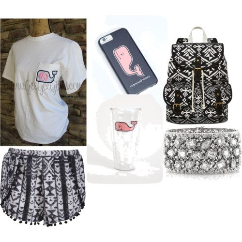 Untitled #56 by emmalou15 on Polyvore featuring polyvore fashion style Boohoo SM New York Mark Broumand Vineyard Vines