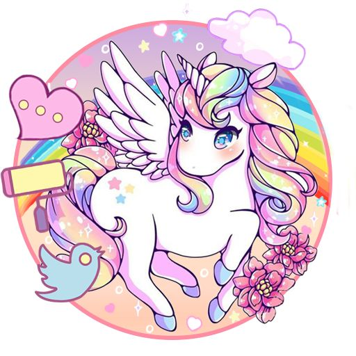 Cute Unicorn 🦄 Themes HD Wallpapers - Free Live HD ... in 2020