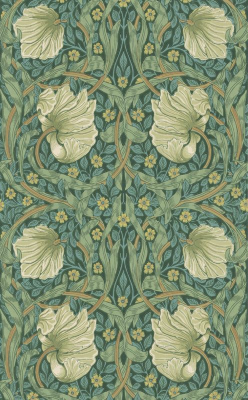 Pimpernel Privet/Slate från William Morris & Co