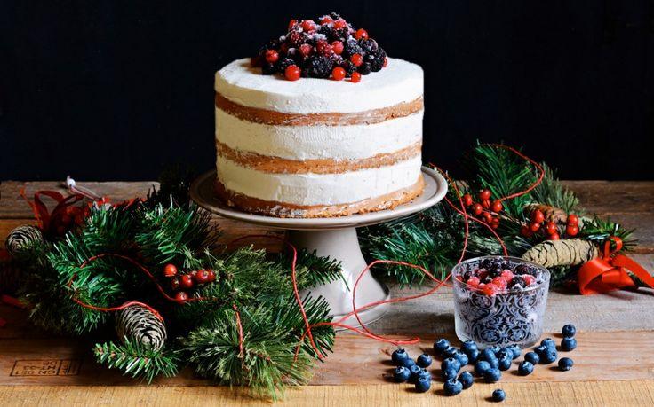 Naked cake allo zenzero ricetta