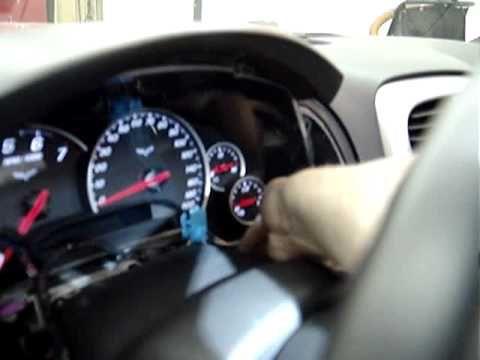 2005 C6 Corvette Column Lock Bypass installation video