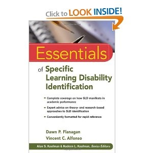 Essentials of Specific Learning Disability ID