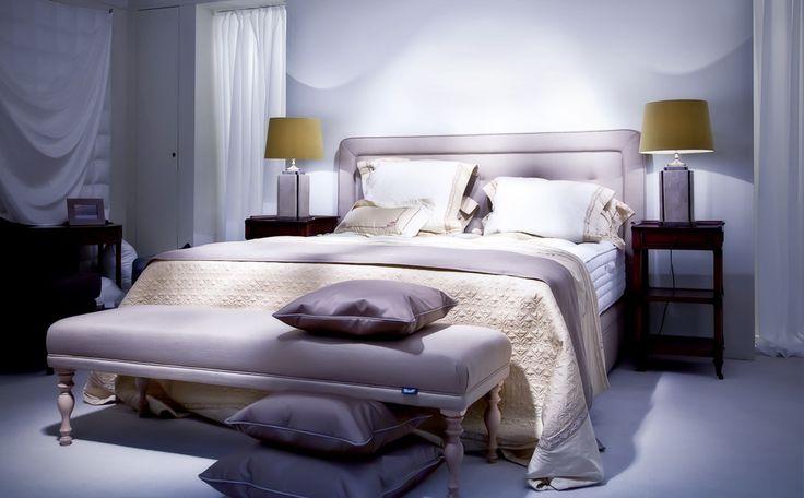 rustgevende kleuren in de slaapkamer