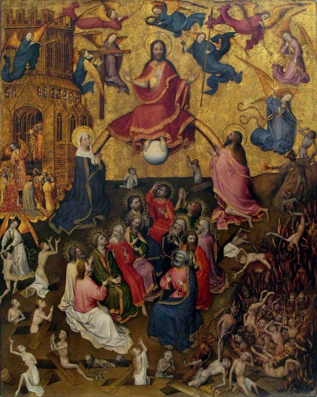 Lieven van den Clite (1375 - 1422) - The Last Judgment.