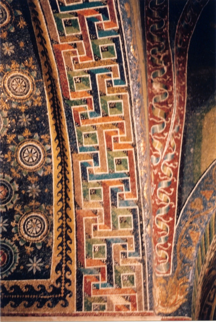 Ravenna, Italy. Mosaics in Gala Placidia mausoleum.