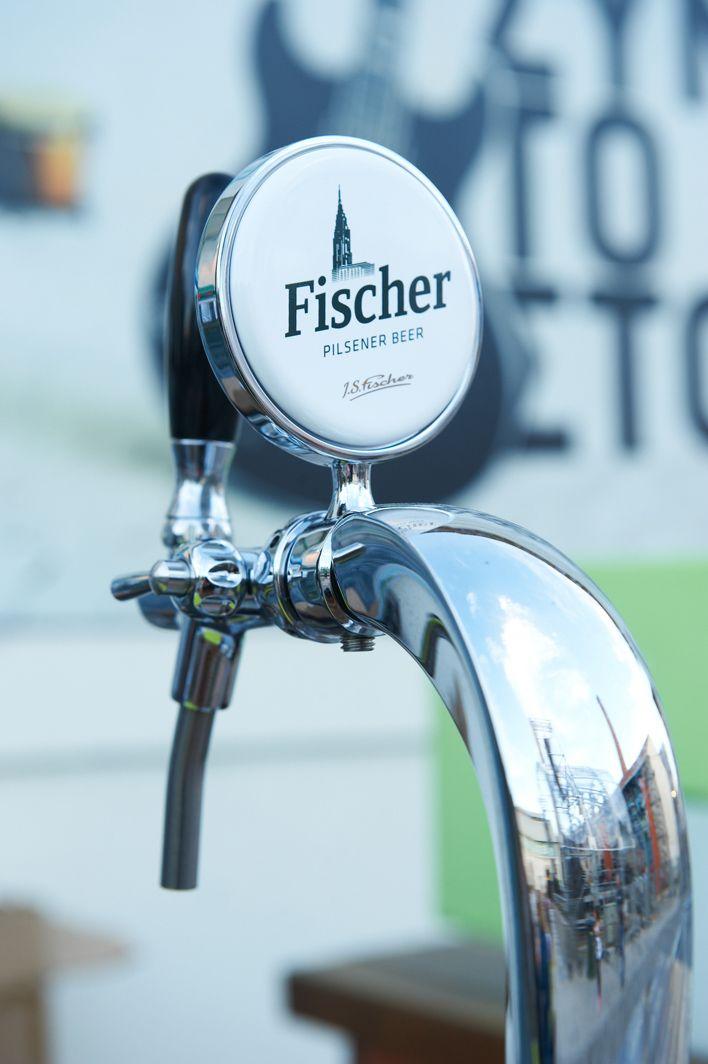 Fischer Beer @ Athens Technoplis Jazz Festival. #ForYourFinerMoments