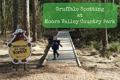 Entertaining Elliot: Gruffalo Spotting at Moors Valley Country Park, Do...