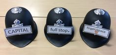 Identity crisis? No, I'm a primary school teacher!: No full stops? ... call the police!