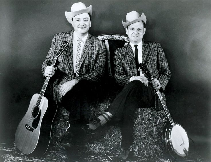 Stanley Brothers ~ Carter & Ralph Stanley. I love love love them! I've been lucky to talk with Ralph on two separate occasions and he is such a dear sweet man!!!! :)