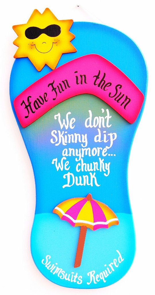 Funny Outdoor Pool Sign No Shoes No Suit No Problem We
