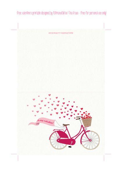 Free Printable Valentine's Card