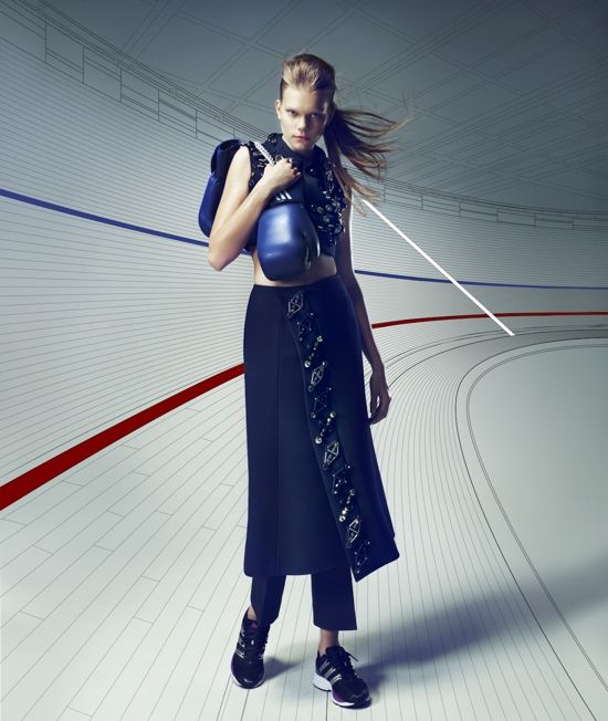Surface China  July 2012  Photographer: Takahito Sasaki  Models: Vita West, Sarah Stephens  Stylist: Nicole Freeman