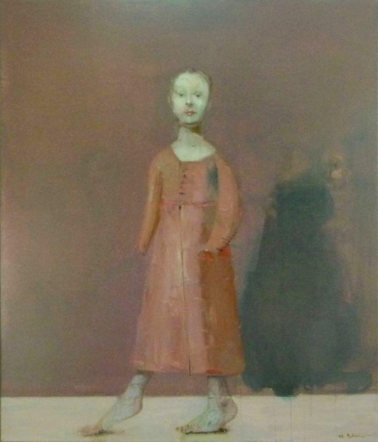 Akexander Bobkin, In the Silence, oil on canvas 120x100 cm