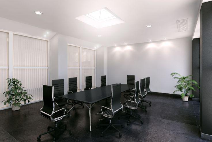 LED Skylights are great for meeting spaces.