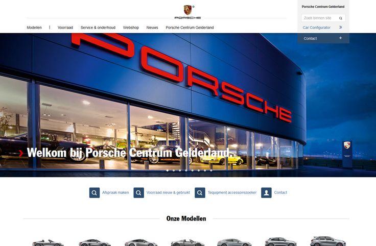 Website  Porsche Centrum Gld.