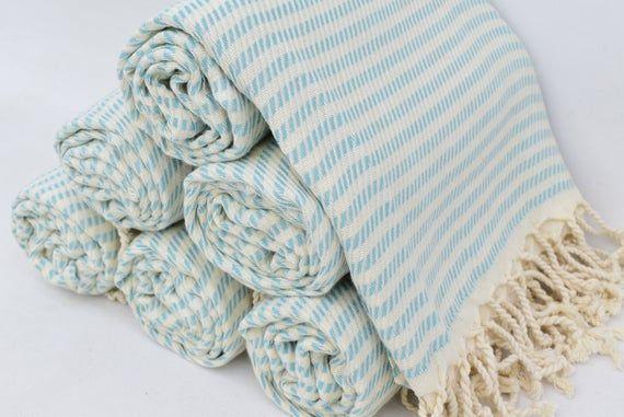 Turkish Towel 40x70 Turkish Beach Towel Peshtemal Towel