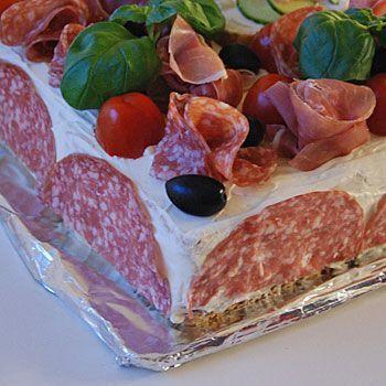 Recept italiensk smörgåstårta