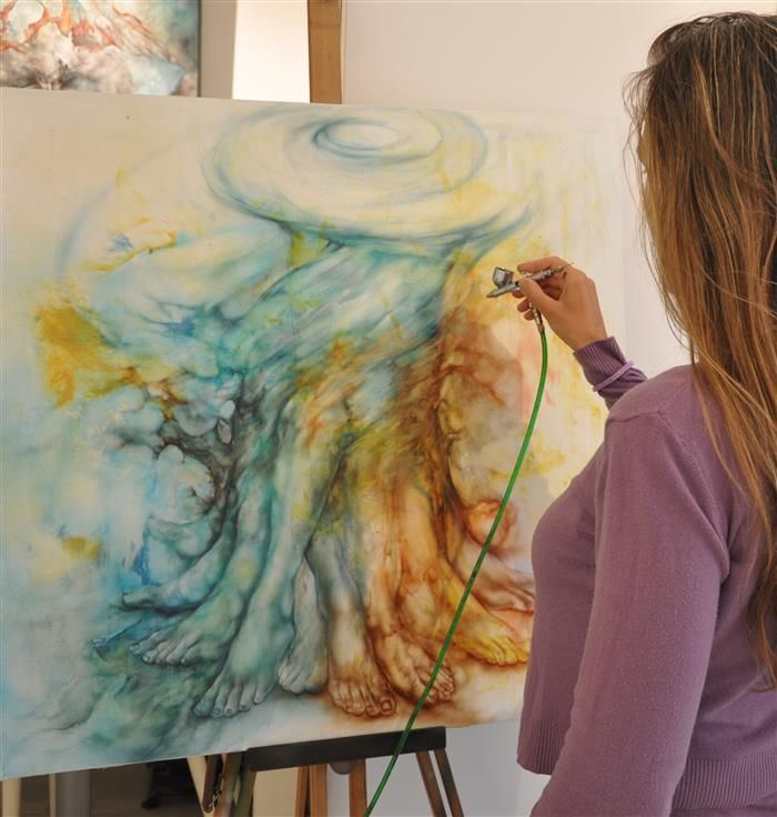 Opleiding Artistiek sierspuiten - airbrush basis | Interieur | opleidingen Syntra West