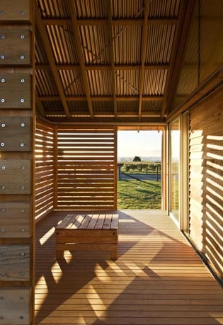 Parsonson Architects - Shoal Bay House in Hawkes Bay, New Zealand