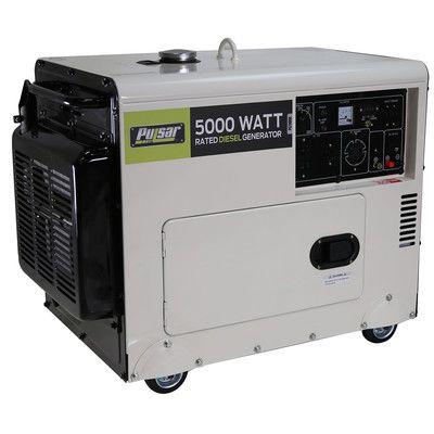 Pulsar Products Diesel Series 7000 Watt Portable Diesel Generator