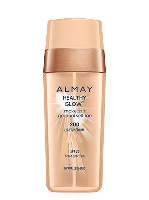 almay healthy glow™ makeup + gradual self tan | almay.com