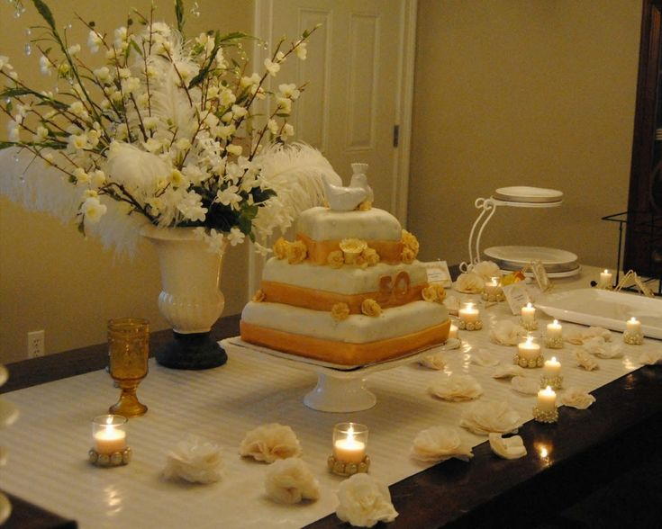 25 best ideas about 50th anniversary on pinterest 50th for 50th anniversary decoration ideas homemade