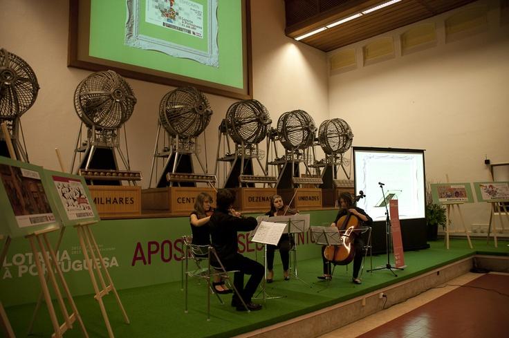 Atuação dos alunos do Conservatório de Música de Lisboa - Sessão de Entrega de Prémios