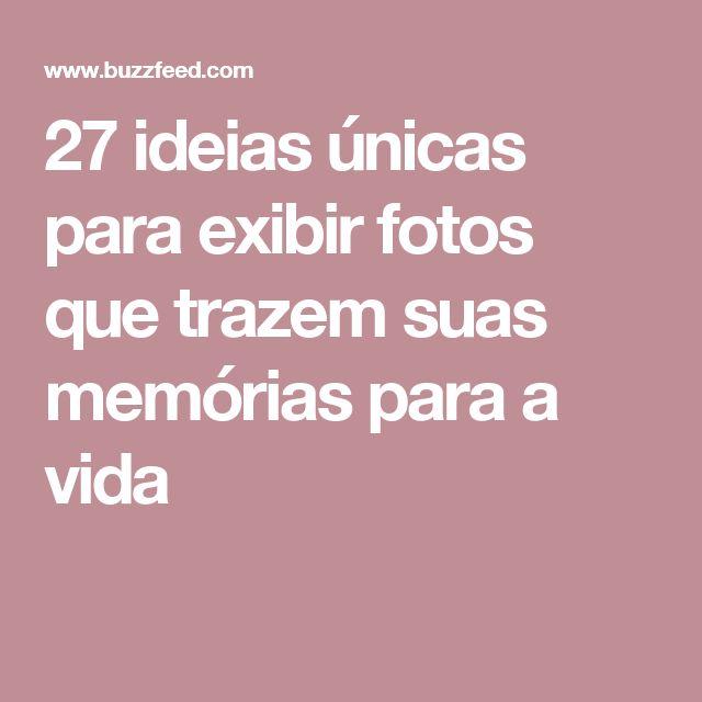 27 ideias únicas para exibir fotos que trazem suas memórias para a vida