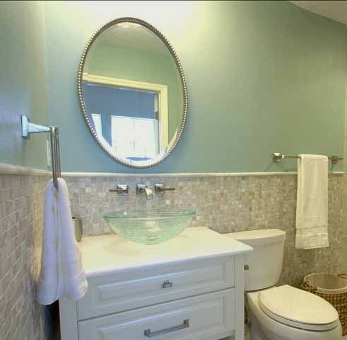 Hollingsworth Green Hc 141 Benjamin Moore Bathroom
