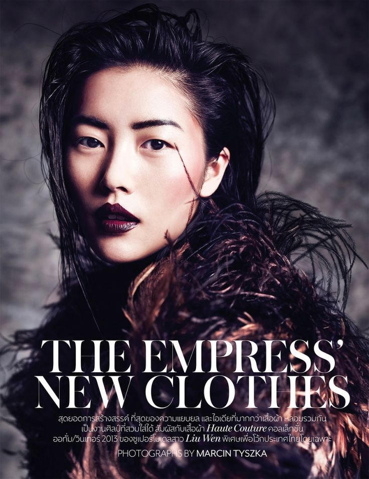 Liu Wen by Marcin Tyszka for Vogue Thailand October 2013 Liu Wen by Marcin Tyszka for Vogue Thailand October 2013