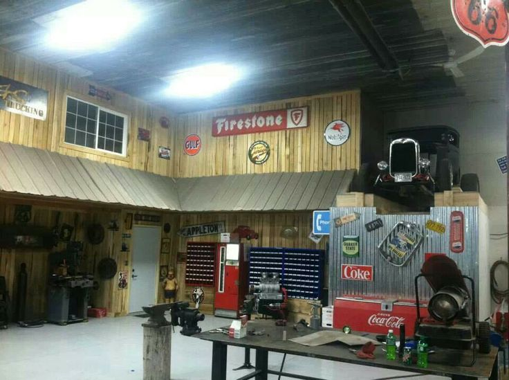 Man Cave For Hire : Car guy man cave garages for what they are meant to be