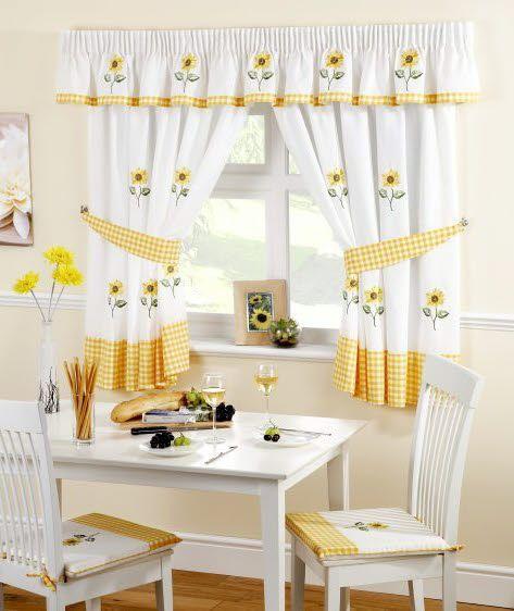 cortinas para cocina dekora hogar
