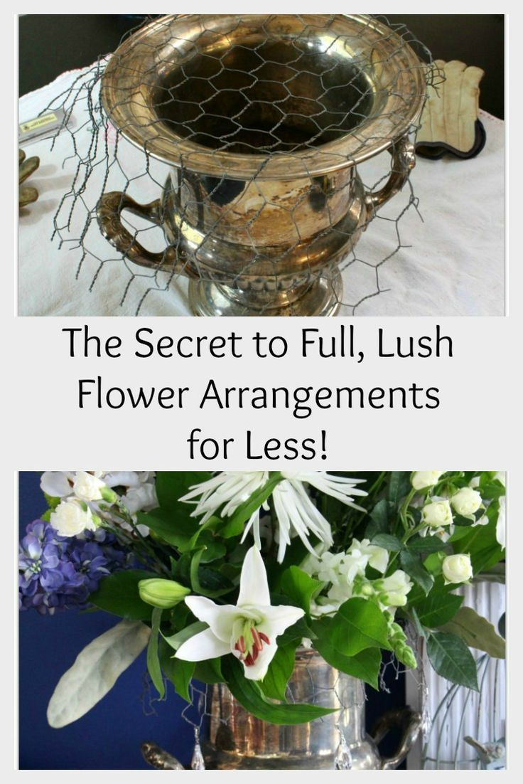 DIY Flower Bonnets.  Use fewer flowers!  More money in your pocket!