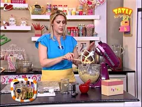Fındıklı Damla Çikolatalı Biscotti Tarifi - Kevserin Mutfağı - YouTube