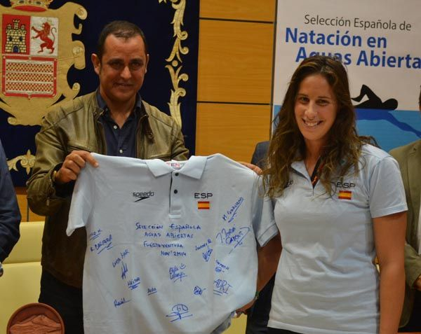 La selección española de natación en aguas abiertas en categoría absoluta y junior se concentra en Fuerteventura para el Campeonato del Mundo de Natación