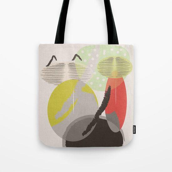 Green Cat Tote Bag