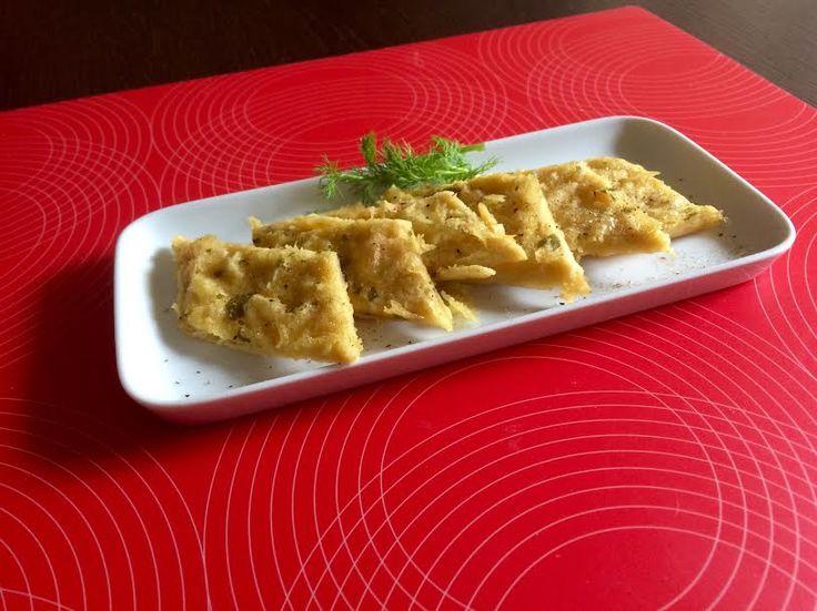 Ricette con farina di ceci: panelle palermitane al forno - http://www.chizzocute.it/ricette-farina-ceci-panelle-palermitane-al-forno/