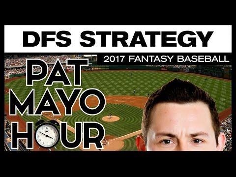 2017 Daily Fantasy Baseball: DFS MLB Strategy, Theory, Tips & Research - Cash Game & Tournament
