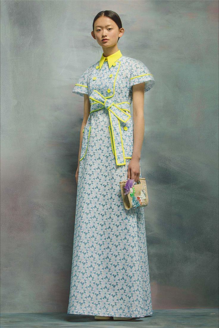 Sfilata Delpozo New York - Pre-collezioni Primavera Estate 2017 - Vogue