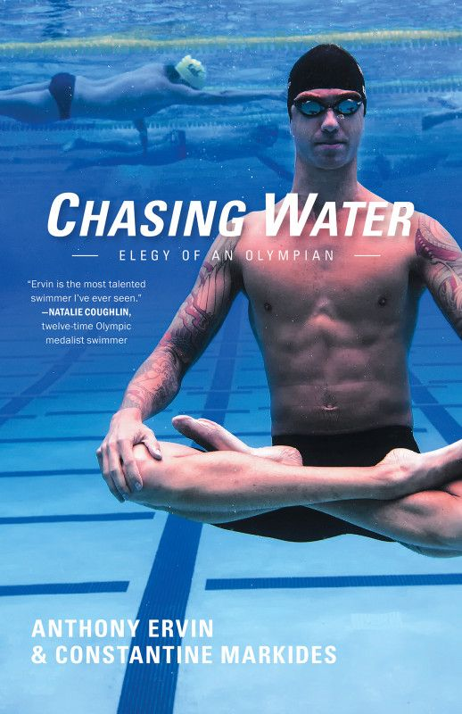 Chasing Water is Anthony Ervin's memoir, co-authored by Anthony with Constantine Markides. Every four years in the Olympic cycle the surge of national interest in swimming grows, and with it a desire to be captivated by its stars. This book tells the dramatic, surprising, and sometimes prov