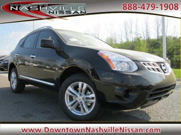 2012 Nissan Rogue FWD SV For Sale @ Downtown Nashville Nissan.  Click on photo for more details.