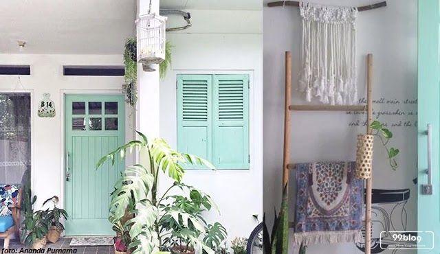 Rumah Minimalis Dengan Sentuhan Vintage Yang Hangat Lihat Yuk Inspirasi Desain Rumah Minimalis Bergaya Vintage Y Desain Rumah Minimalis Rumah Minimalis Rumah