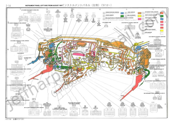 Toyota Wiring Diagram Color Codes Inspirational Toyota