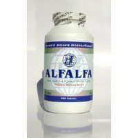 Bernard Jensen Products - Alfalfa, 1000 tablets by Bernard Jensen Products. Save 18 Off!. $13.07. Bernard Jensen's Alfalfa Tablets. Made from Sun Ripened Alfalfa Leaves. For use as a contributory source of the desirable nutrients of the desirable nutrients of alfalfa to the daily diet. Alfalfa, like any vegetable, may be taken in any quantity. Eight pounds of fresh premium alfalfa are used to produce one pound of our quality dried alfalfa. Dietary supplement. Alfalfa (Medicago Sativa) is a…
