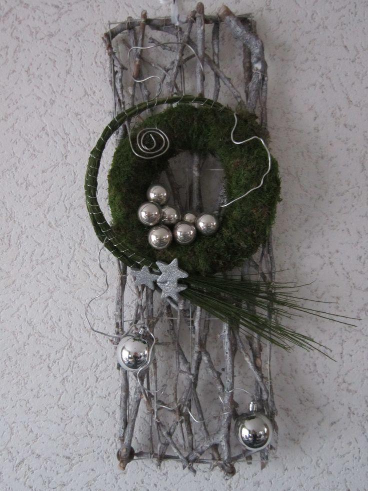 Deurhanger ((bloemschikken-kerst))