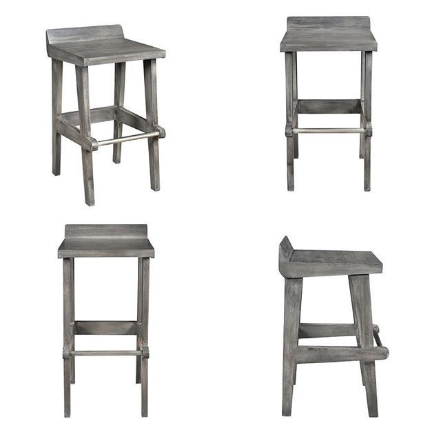 The Ace Kitchen Stools from !nspire in grey strike a gorgeous balance between rustic & modern ;)   http://worldwidehomefurnishingsinc.com/ace-26-counter-stool-in-grey.html