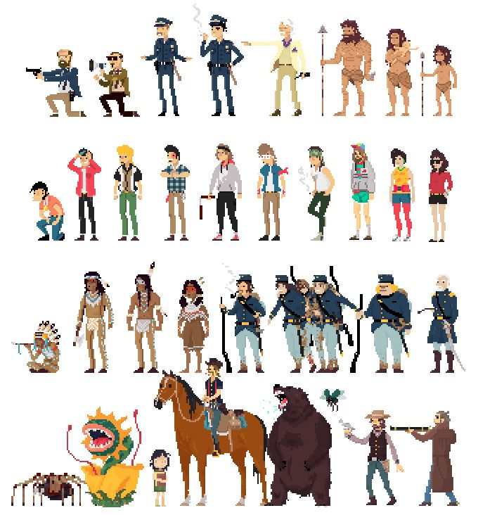 Character Design Kickstarter : Best images about pixel characters on pinterest