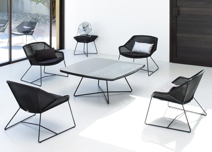 Photo: Skovdal.dk  Breeze garden chairs by cane line Denmark