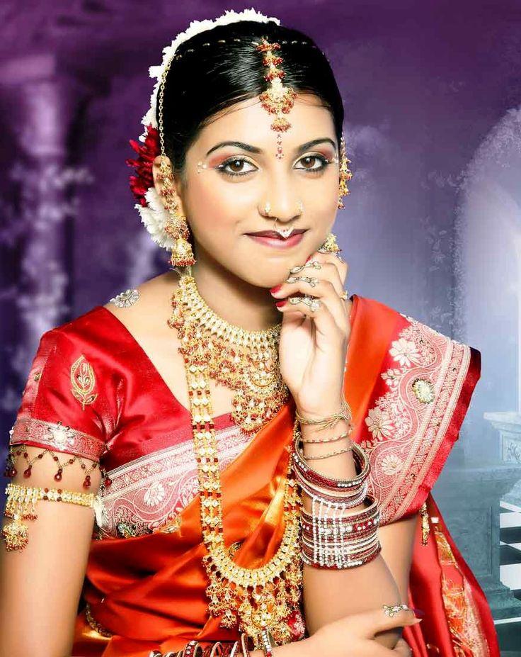 Hair/Make-up South Asian saree